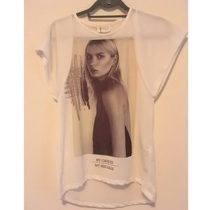 Zara T-Shirt Collection Tee NWT